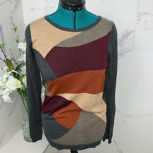 NWT Limited autumn colored sweater XL
